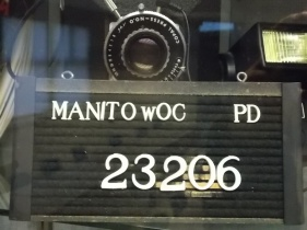Manitowoc Police - Mug & camera