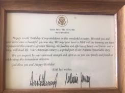 Trump Congrats close